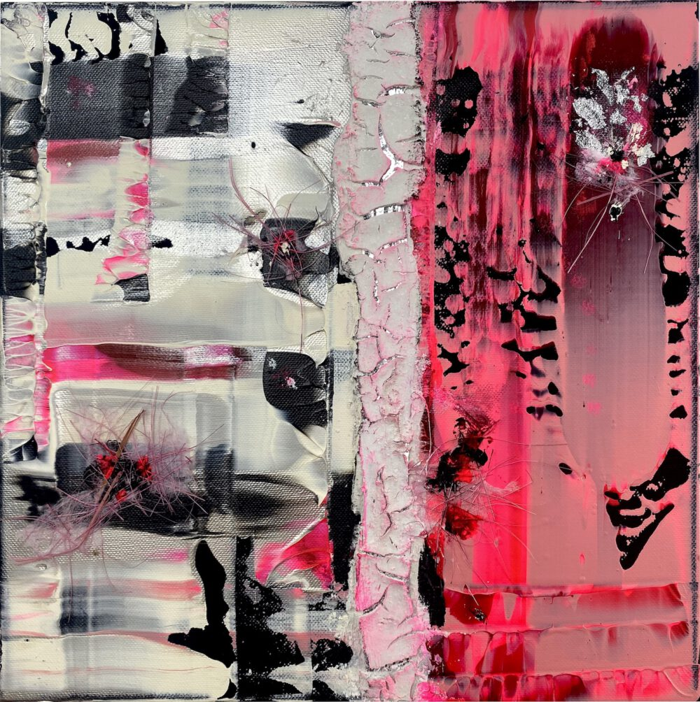 2 ThingsPink III 30x30cm
