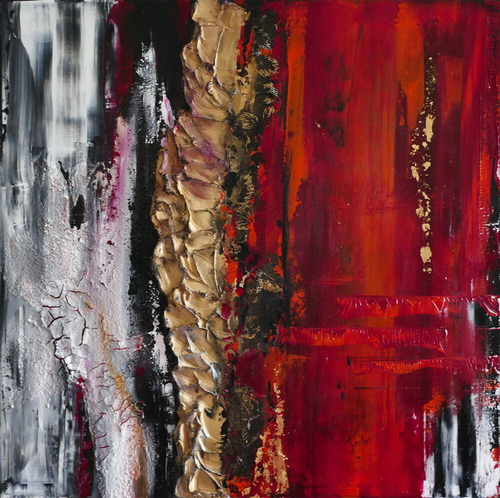 2 ThingsRed I 60x60cm
