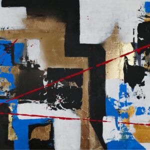 abstraktes Acrylbild Chaos in 2020