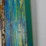 2 ThingsBlue I 60x60cm