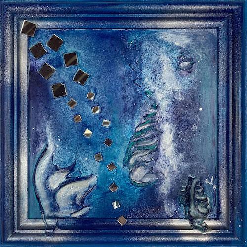 Produktbild Pantasia abstrakt blau