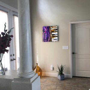 Produktbild 2 Things Pink 1 an Wand hängend
