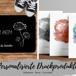 personalisierte Produkte