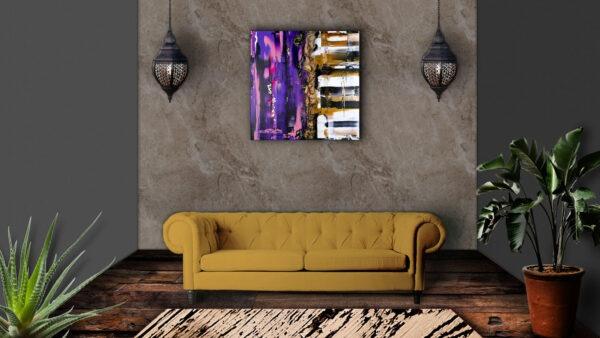 2 Things Pink 1 Acrylbild an Wand